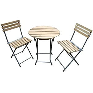 Table et chaise de jardin bistrot for Table et chaise bistrot