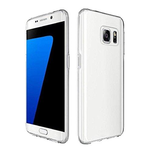Ver funda para Samsung Galaxy S7 y Samsung Galaxy S7 Edge Sannysis Completo Carcasas y fundas, TPU clara (Samsung Galaxy S7 Edge)