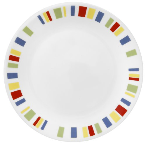 Corelle Livingware 6-3/4-Inch Bread and Butter Plate, Memphis (Corelle Dinnerware Memphis compare prices)