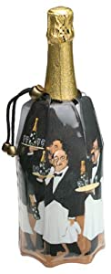 Vacu Vin Guy Buffet Rapid Ice Champagne Chiller, Sommeliers