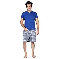PSK Regular Cotton Check Men's Casual Boxer (Pack of 3) (X-Large, Color-B)