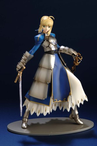 Fate/Stay Night : Saber PVC Figure with 1/6 Scale