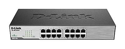 D-Link 16 Port Gigabit Unmanaged Switch (DGS-1016D)