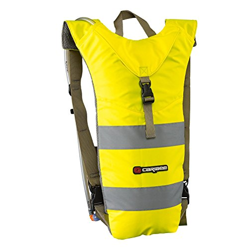 CARIBEE Casual Daypack Nuke Dayback Including Drink System High Visibility Yellow 3 Liters Yellow 105714