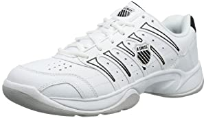 K-Swiss GRANCOURT II CARPET 02733-102-M, Herren Tennisschuhe, Weiß (White/Black), EU 44 (UK 9.5)