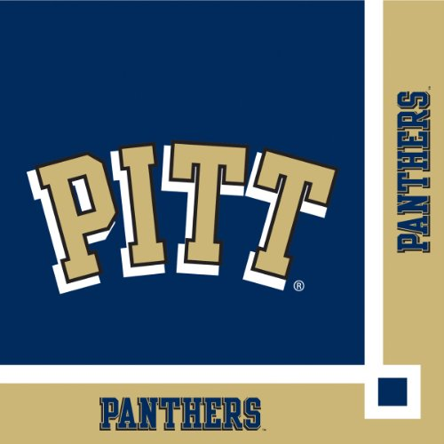 Creative Converting Pittsburgh Panthers Beverage Napkins