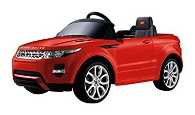 Range Rover Evoque - 12V Licensed Electric Ride On Toy for Kids - RED