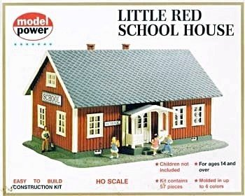 Buy Model Power – Little Red School House Kit HO – 604