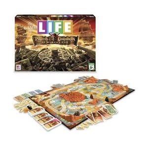 The Game of Life: Pirates of the Caribbean 3 board game!