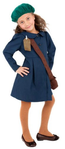 smiffys-world-war-ii-evacuee-girl-costume-dress-hat-and-bag-sizel-colour-blue-38651