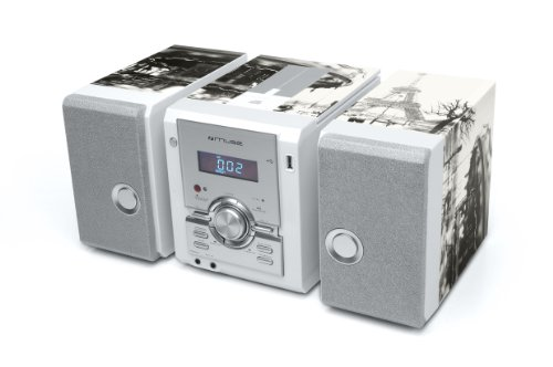 M-33 OP Micro-Anlage (CD, MP3, USB) mehrfarbig