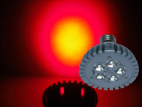 Led Far Red 660Nm Grow Light 5W - Standard Base 120V