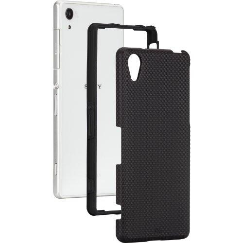Case-Mate 日本正規品 docomo Xperia Z2 SO-03F Hybrid Tough Case, Black / Black ハイブリッド タフ ケース ブラック / ブラック [Made for XPERIA] CM030987