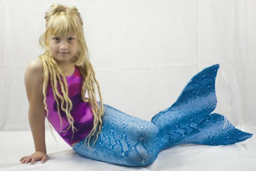 Mermaid Tail for Swimming: Cute Tail with Monofin