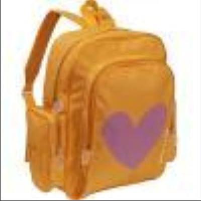 Miquelrius Agatha Ruiz De La Prada Star large knapsack (Orange)