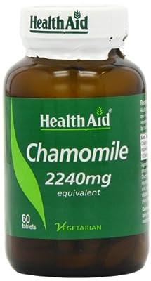 HealthAid Chamomile 2240mg 60 Vegetarian Tablets from HealthAid