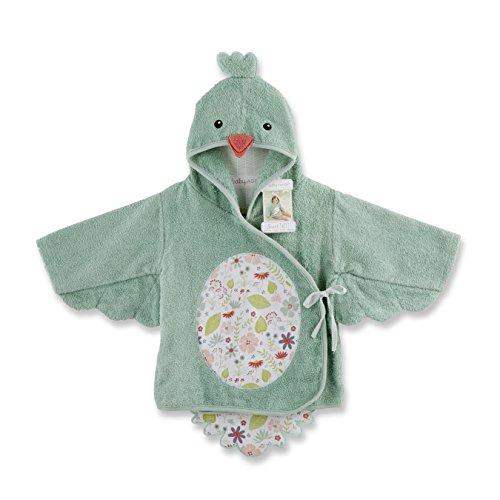 Baby Aspen Sweet Tweet Bird Hooded Spa Robe