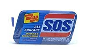 Clorox S.O.S 91017 All Surface Scrubber Sponge