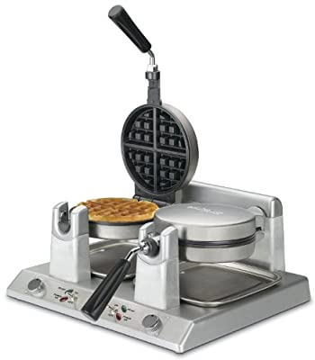 Waring Commercial WW250B Heavy Duty Double Side-by-Side Belgian Waffle Maker, 208-volt from Waring Commercial Inc. (Kitchen)
