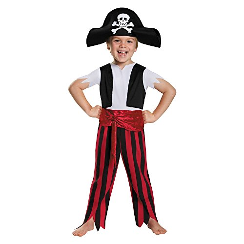 [Holiday Style Toddler Pirate Costume (18-24 Months)] (Toddler Boys Pirate Costumes)