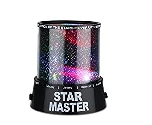 The Fantastic Star Night Light Projector - Cast a Cosmic Projection & Coloured Light Sequences around your room