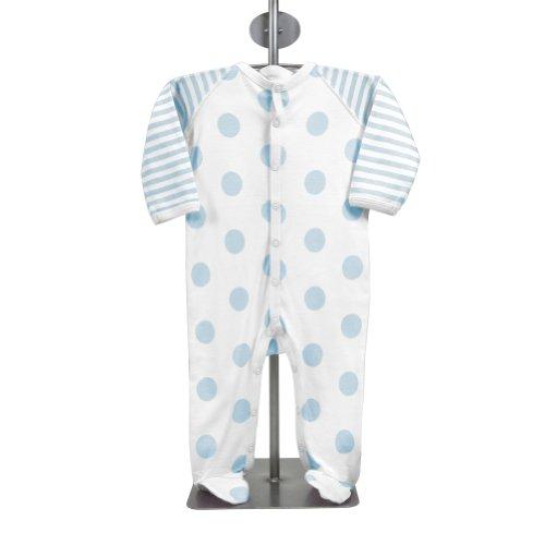 Little Giraffe Lollipop Footie - Blue
