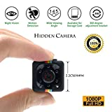 Luxnwatts Mini Camera Spy 1080P Small Hidden Camera Wireless with Night Version and Motion Detection Nanny Cam for Home Security Monitoring