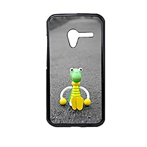 Vibhar printed case back cover for Motorola Moto X (1st Gen) LostToy