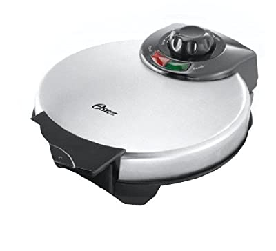 Oster CKSTWF2000 Belgian Waffle Maker, Stainless Steel from Oster