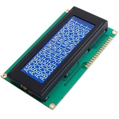 Niceeshop(Tm) 2004 Lcd Module For Arduino 20 X 4/White On Blue Screen Based On The Popular Hd44780 Controller