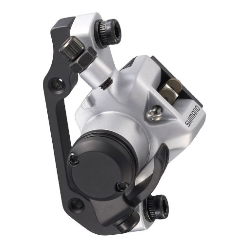 Buy Low Price Shimano BR-M416 Mechanical Disc Brake Caliper – Front Post, Silver (EBRM416AFPRS)