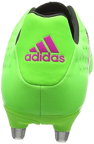 Adidas Ace 16.3 Sg, Herren Fußballschuhe, Grün (Solar Green/Shock Pink/Core Black), 40 2/3 EU -