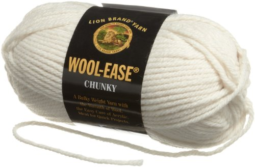 Lion Brand Yarn 630-099 Wool-Ease Chunky Yarn, Fisherman