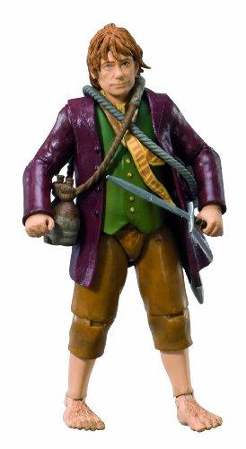 """The Bridge Direct Hobbit 4"""" Collector Figure: Bilbo Baggins - Wave 1"""