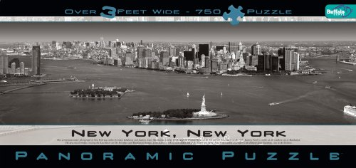 Cheap Fun Buffalo Games New York City – Panoramic Puzzle – Black and White (B001EWY50E)