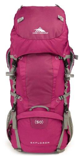 High Sierra Women'S Explorer 50 Internal Frame Pack, Boysenberry/Boysenberry/Ash front-213754