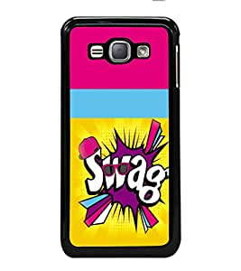 printtech Funky Back Case Cover for Samsung Galaxy J1 (2016) :: Samsung Galaxy J1 (2016) Duos with dual-SIM card slots :: Galaxy Express 3 J120A (AT&T); J120H, J120M, J120M, J120T