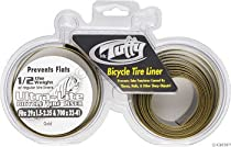 "Mr. Tuffy Ultra Lite Tire Liner - 1 Pair, 700 x 32-41, 29 x 1.5-2.0"", Gold"