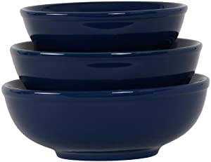 COLORcode Serving Bowl, Juniper Berry, Set of 3 by COLORcode