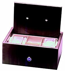 Godrej Cash Box and CnTry Brn Mechanical Safe (Brown)