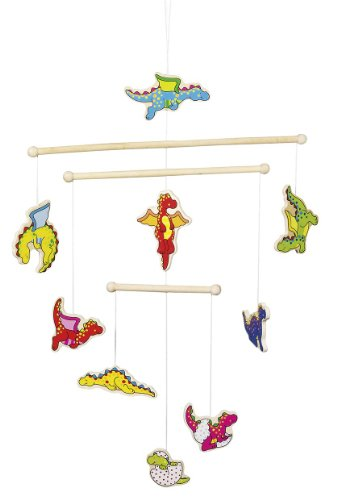 Baby Dragons Wooden Ceiling Mobile front-768954