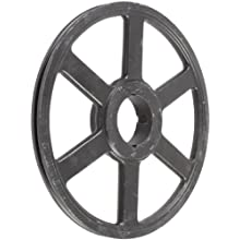 Martin Narrow V-Belt Drive Sheave, 3V Belt Section, 1 Groove, Class 30 Gray Cast Iron
