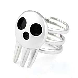 Rulercosplay Soul Eater Death the Kid Cosplay Ring 2 Pieces