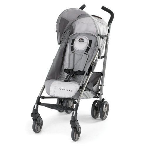 Cheapest Price! Chicco Liteway Plus Stroller, Silver