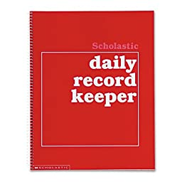 Scholastic Daily Record Keeper, Grades K-6, 11 x 8-1/2 Inches, 64 Pages (SHS0590490680)