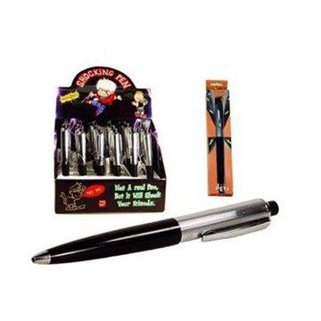 SODIAL (R) Elektrisch schockierend Stromschlag Stift Pen Kugelschreiber