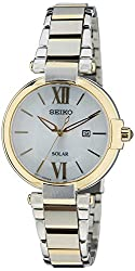 Seiko Dress Analog White Dial Womens Watch - SUT154P1