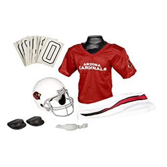 Buy Franklin Sports NFL Arizona Cardinals Deluxe Youth Uniform Set by Franklin
