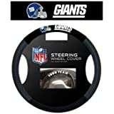 418ZAgE0HLL. SL160  NFL New York Giants Poly Suede Steering Wheel Cover