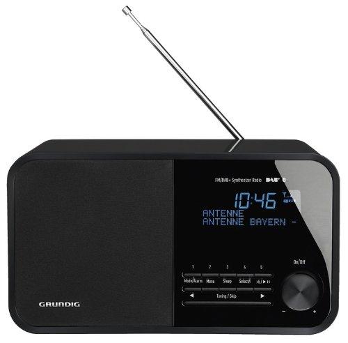 Grundig TR2500 DAB+ Radio Portatile, Nero
